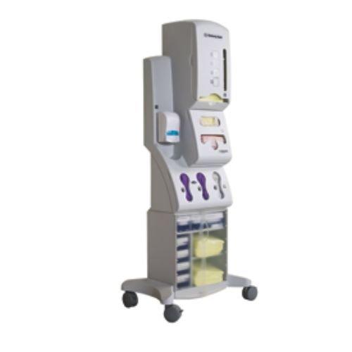Halyard Health 29902 PPE Dispensing System, 19.6'' Width x 17.3'' Diameter x 50.5'' Height