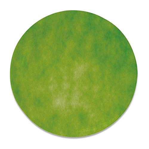 - YOLIYANA Lime Green Round Ceramic Decorative Plate,Cloudy Shade of Color Pastel Toned Hazy Backdrop Irish Tones Artistic Digital for Table Or Wall,6 inch