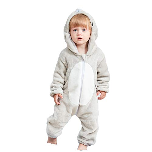 Unisex Kids Baby Mouse Halloween Costumes Cartoon Outfit One Piece Homewear 80 -