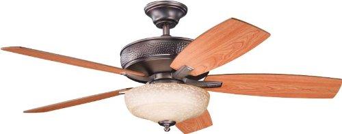 (Kichler 339213OBB 52-Inch Monarch II Select Fan, Oil Brushed Bronze)