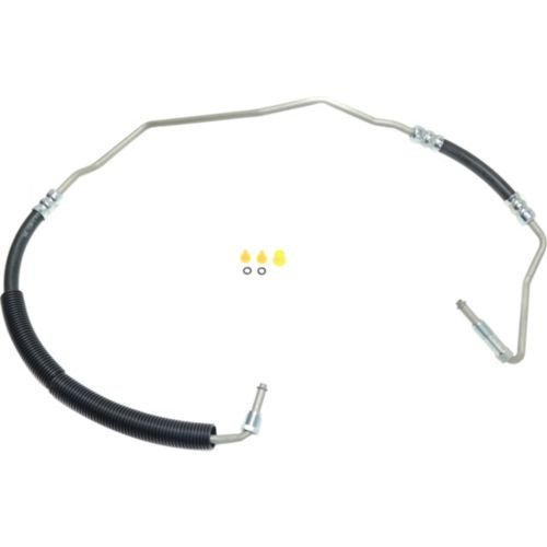 MAPM Car & Truck Power Steering Pumps & Parts Power steering pressure line hose assembly; 16mm male O-ring end 1 diameter; 18mm male O-ring end 2 diameter FOR 2000-2002 Cadillac DeVille