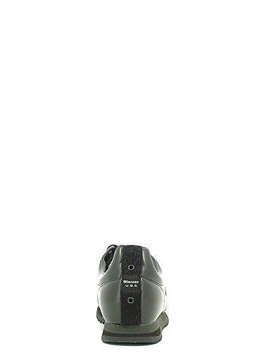 BLAUER 6FNEWRUN abrasivato nero BLACK Taglia 44