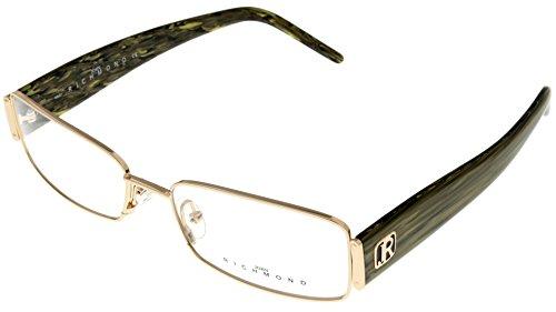 - John Richmond Prescription Eyewear Frames Womens JR14804 Gold Olive