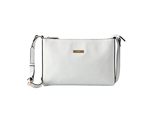 Lightweight SEPT White PU Classic Shoulder Girls Womens Crossbody Bag Leather Modern Bag MIRACLE Medium wwHYr