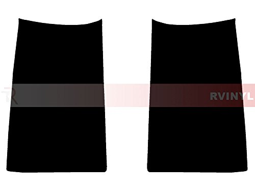 Rtint Tail Light Tint Covers for Chevrolet Suburban / Tahoe 2015-2016 - Blackout Smoke