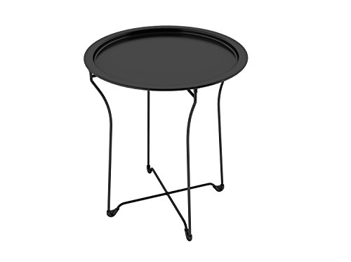 black tray table - 4