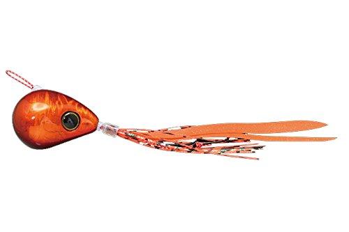 JACKALL(ジャッカル) ルアー 爆流鉛式ビンビン玉スライド80g レッドオレンジ/オレンジゴールドフレークの商品画像
