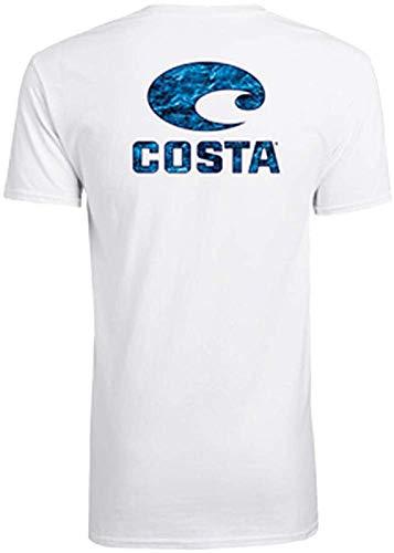 Costa Del Mar Logo Mossy Oak Elements Short Sleeve T-Shirt - http://coolthings.us