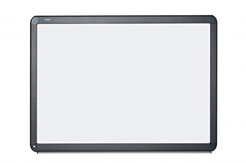 MasterVision Interactive Magnetic Dry Erase Board, 78-Inch Diagonal, 70'' x 52'' x 4.2'', Black (BI1291800006) by MasterVision