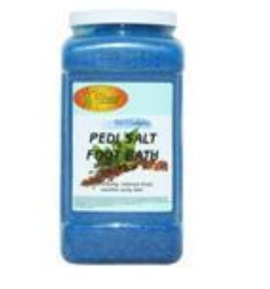 Spa Pedi Redi Salt Foot Bath Mint & Eucalyptus 1 Gallon