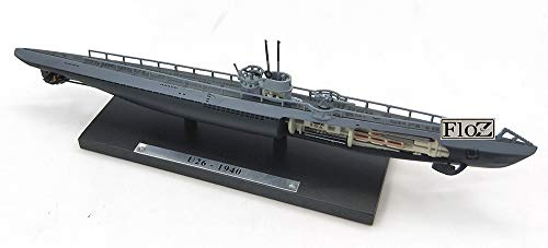 FloZ Germany U-26 Die cast 1/350 U-Boat Model Ship Submarine from FloZ