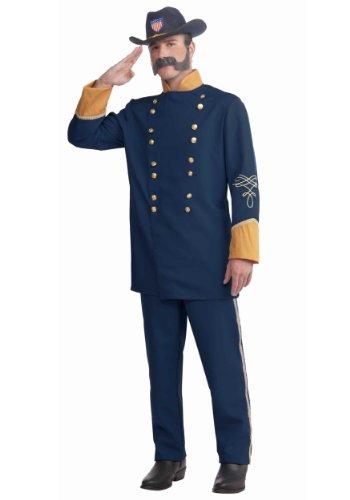 Forum Novelties Plus-Size Extra Large Union Officer Costume, Blue, -