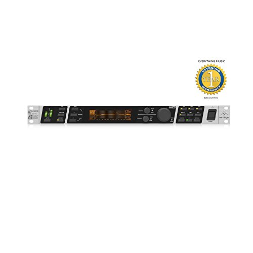 Behringer ULTRACURVE PRO DEQ2496 Ultra-High Precision 24-Bit/96 kHz EQ/RTA Mastering Processor with Microfiber and Free EverythingMusic 1 Year Extended Warranty