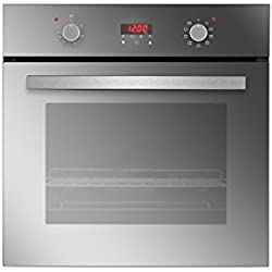 "Empava 24"" Tempered Glass Electric Built-in Single Wall Oven 2800W 110V, Mirror Glass"