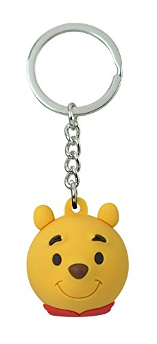 - Disney 22354 Winnie The Pooh Deluxe Icon Ball Key Ring, Multicolor