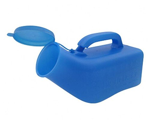 1000ml Male Urinal for Travelling Urine Collector Portable Toilet Chamber Pot Elderly Piss Pot