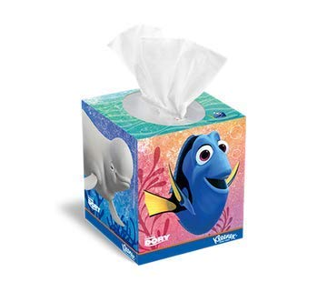 - Disney Pixar Finding Dory Kleenex Tissue Thick Absorbent Facial Tissue, 80 ct (12)