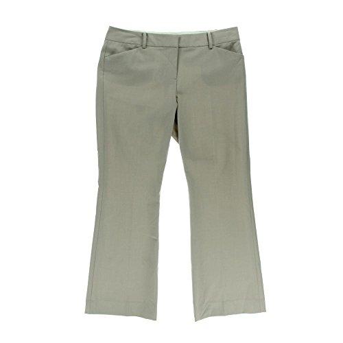 Anne Klein Women's Slight Flare Leg Woven Pocketed Dress Pant (2P, ()