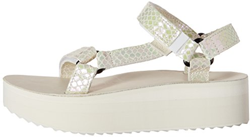1a55983e8d2 Teva Women s Flatform Universal Iridescent Sandal - Import It All