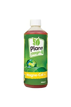 Plant Magic Plus Magne Cal 500 ml Calcio Magnesio calmag Suplemento hidroponía: Amazon.es: Jardín