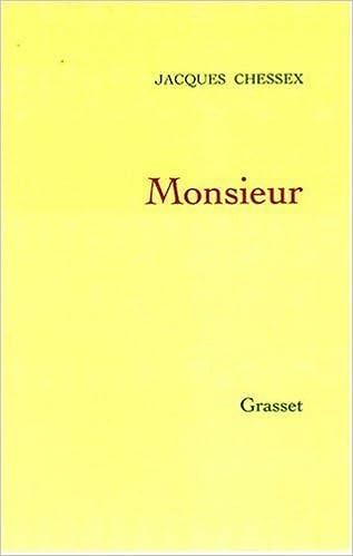 Livre gratuits Monsieur pdf, epub ebook