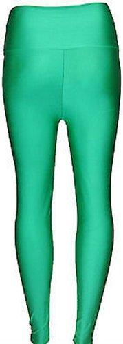 Femmes Nouvelles Regard Green D'unité Centrale Jade Grande Humide Disco Brillant De Américain Taille Pantalon fwqpdw
