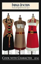 Cook With Character Apron Pattern By Indygo Junction (Amy Butler Apron Pattern)