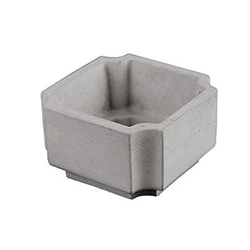 Molde de silicona para maceta de hormigón hecho a mano: Amazon.es: Juguetes y juegos