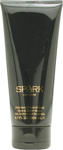 (Spark By Liz Claiborne For Men, Hair & Body Wash, 6.7-Ounce Bottle)