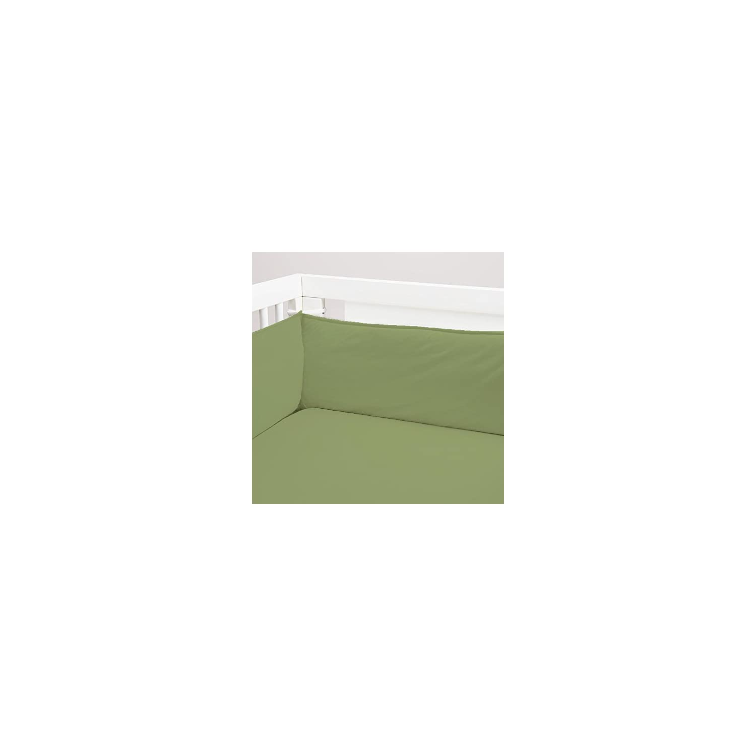 Crib Fitted Sheet Only – 200 Thread Count 100% Cotton – Soft & Comfy -Fit for Standard Crib Mattress and Toddler Bed (Sage)