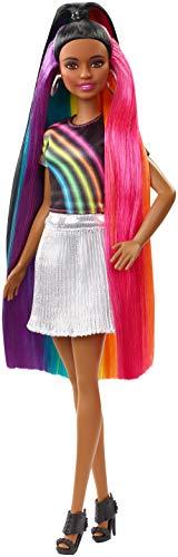 Barbie Sparkle - Barbie Rainbow Sparkle Hair Doll