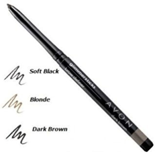 Avon True Color Glimmersticks Eyebrow Definer - Dark Brown