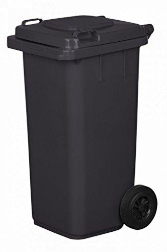 Mülltonne Müllbehälter 120 l grau/anthrazit