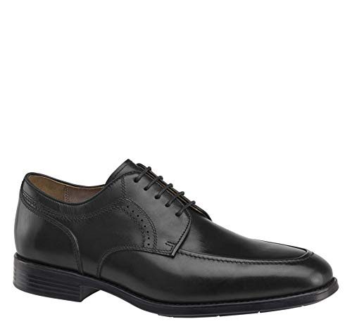 Johnston & Murphy Men's XC4 Branning Moc Toe Shoe Black Waterproof Calfskin 12 M/W US
