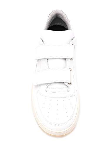 Studios Uomo Sneakers 2ec176100 Pelle Bianco Acne 7zpqwTxFnp