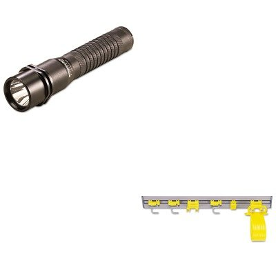 KITLGT74302RCP199300GY - Value Kit - Streamlight Inc Strion LED Rechargeable Flashlight (LGT74302) and Rubbermaid Closet Organizer/Tool Holder (RCP199300GY)