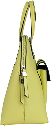 Shirin Sehan Anja, Borsa a mano donna giallo Light Lemon