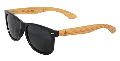 The Venice by Spruce - Polarized Bamboo Sunglasses - Wayfarer - For Men & - Eyewear Venice