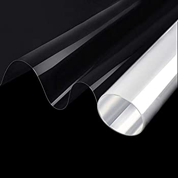 SW Clear Window Film Security and Safety 8mil, UV Blocking Strong Adhesive Shatterproof Window Glass Protection Vinyl, 8Inch x 12Inch, A4 Sample