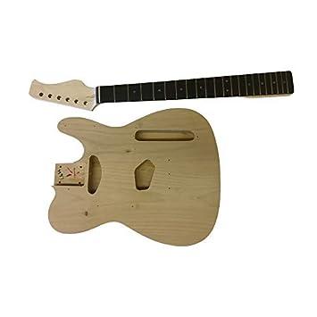 GD605 Coban Guitars Cuerpo de Aliso Guitarra Eléctrica Kit Construcción para Estudiante & Luthier