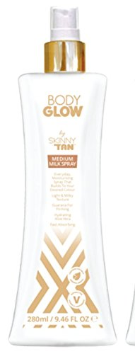 Skinny Tan Body Glow Milk Spray 280ml