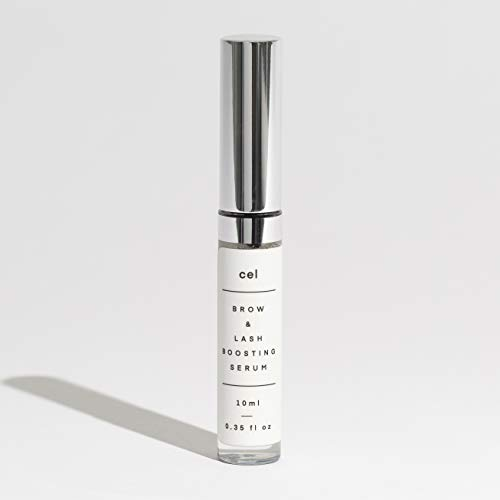 Cel MD Brow and Lash Boosting Serum | Eyelash Growth Serum for Rapid Fullness and Eyebrow Enhancement | Stem Cell Technology - Panax Ginseng, Biotin and Castor Oil