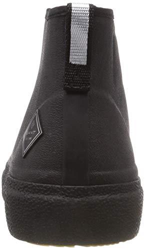 Uomo Gant G00 Stivali di Nero Stormhaven Gomma Black ISRS4Owq