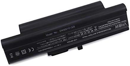 Batería Li-Ion vhbw 11000mAh (7.4V) para portátil Sony Vaio VGN-TX3XP/B, VGN-TX3XP/L, VGN-TX50B/B como VGP-BPL5, VGP-BPL5A, VGP-BPS5, VGP-BPS5A.