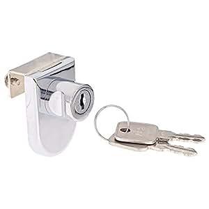 Acs Drawer Lock, Silver