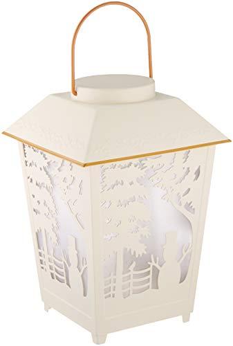 Lenox Holiday Snowman Lit Lantern
