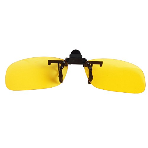 LTS005 60mm Gafas up sol amarillo flip on polarizadas de clip hombre Jee mujer g7dv6wvq