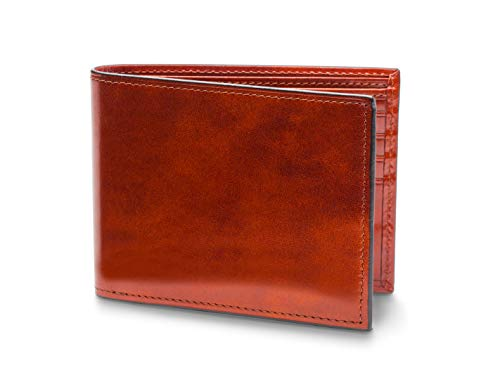 Bosca Men's Old Leather Collection-Continental ID Wallet, Cognac, One Size ()