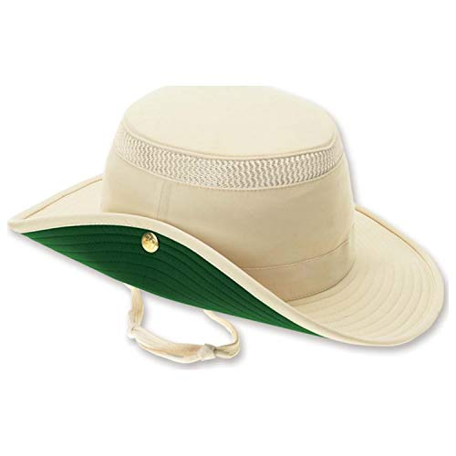 Tilley Endurables LTM3 Airflo Hat,Natural/Green,7.5