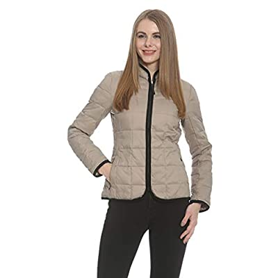 Ciao Milano Monique M Womens Jacket Taupe at  Women's Coats Shop